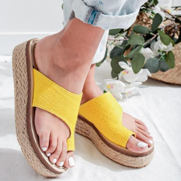 Women's Fashion Platform Casual Beach Slippers Sandals