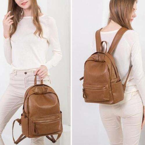 Dlkluo Large Capacity Multi-functional Backpack Solid Bag