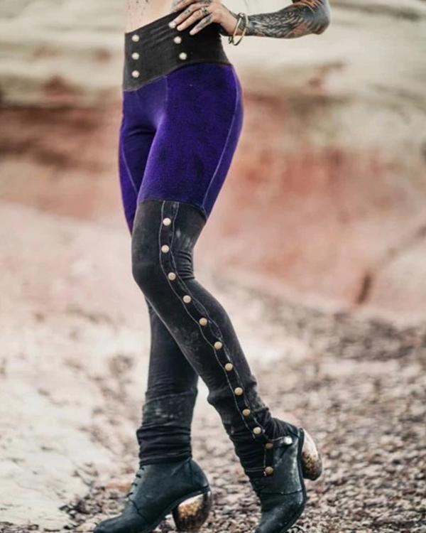 Women's Casual Cotton-Blend Pants
