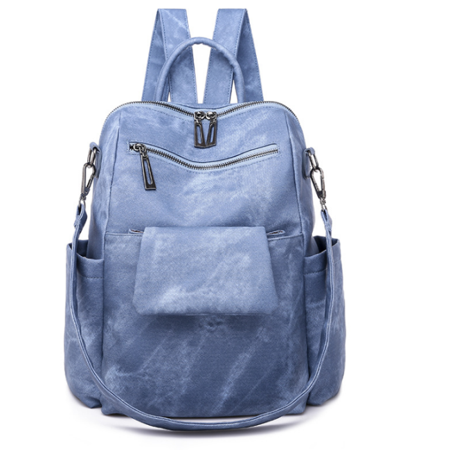 2020 New And Fashional Woman City-Style PU Backpack Shoulder Bag