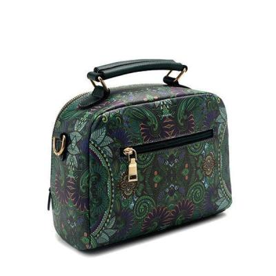 Women Bohemian Forest Series Crossbody Bag Print Flower Handbag