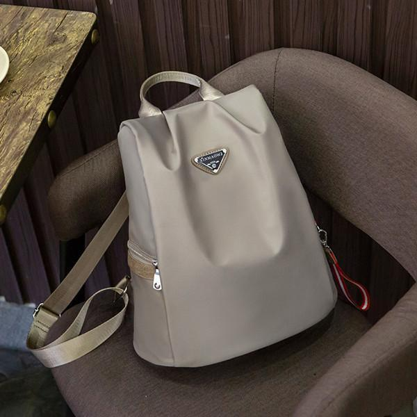 Multi-functional Waterproof Soft Oxford Backpack Casual Bag