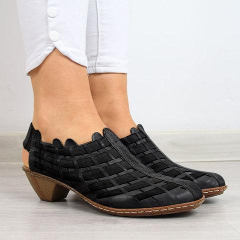 Women Casual Comfy Elastic Band Plus Size Shoes