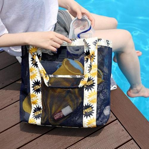 Nylon Lightweight Picnic Handbag Shoulder Bag