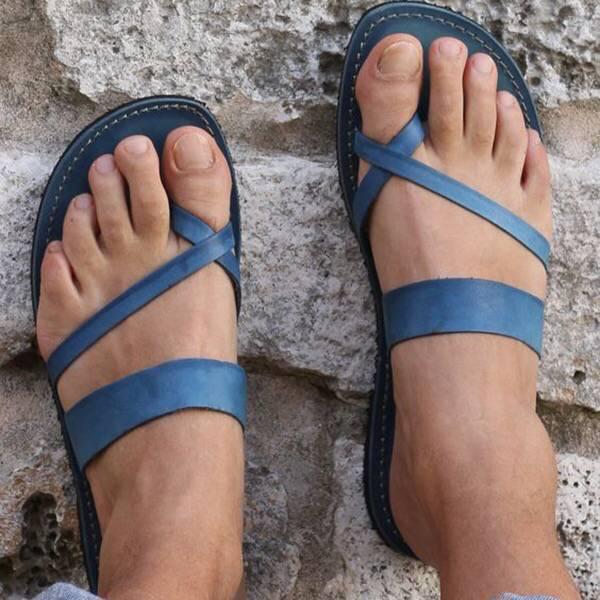 Bandage Casual Open Toe Flip-flops Work Shoes Summer Sandals Slipper