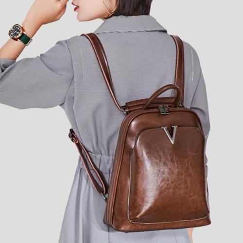 Casual  Cowhide Backpack Original Multi-functional Shoulder Bag