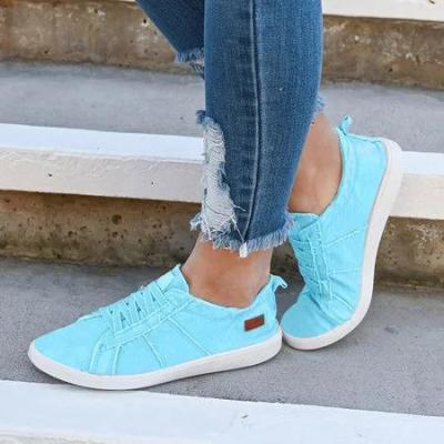 Women Vintage Slip-on Sneaker Shoes