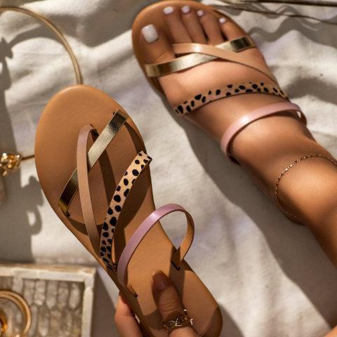 Summer Flat Heel Snadals
