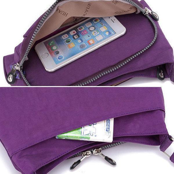 Women Solid Waterproof Bag Casual Storage Bag