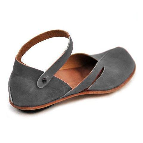 Large Size Spring/Fall Women Casual PU Leather Sandals