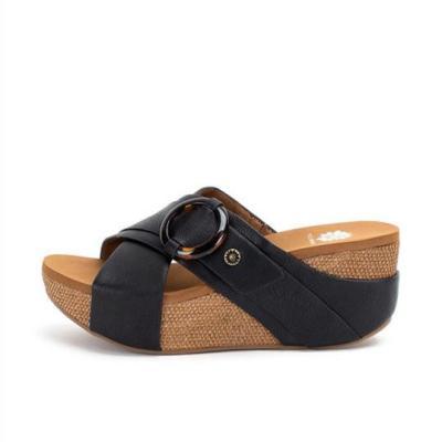 Women's simple wedge slippers