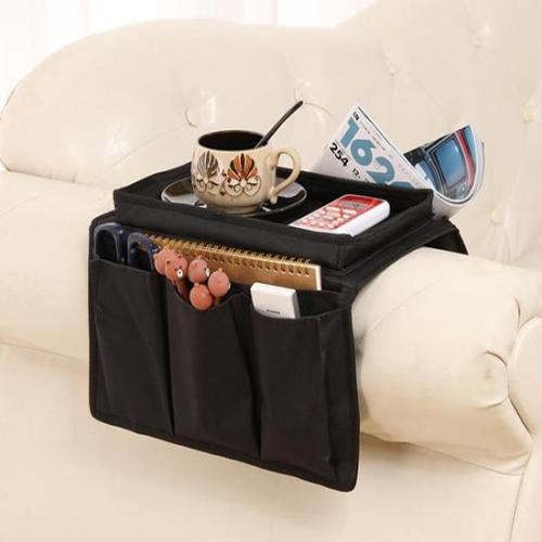 Armchair Sofa Bedside Hanging Organizer Storage Bag