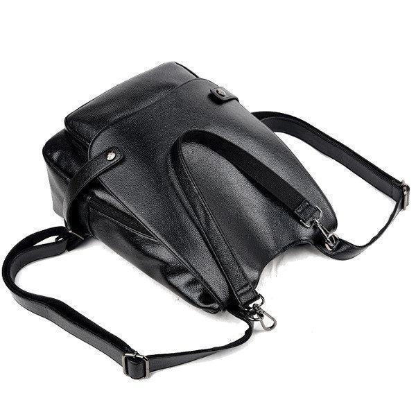 Genuine Leather Multifunctional Crossbody Bag Shoulder Bag Backpack