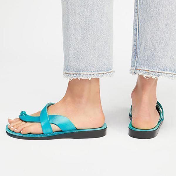 Women PU Slippers Casual Flip Flops Slippers Sandals