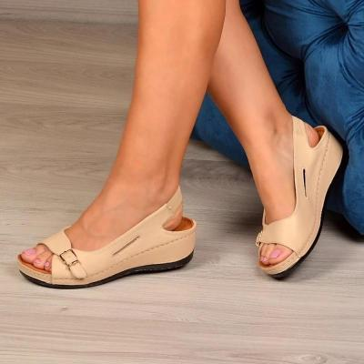 WOMEN CASUAL DAILY SLINGBACK WEDGE SANDALS