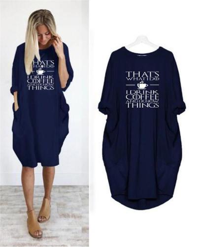 Boho Inwrought Loose Belted Vacation Midi Dress