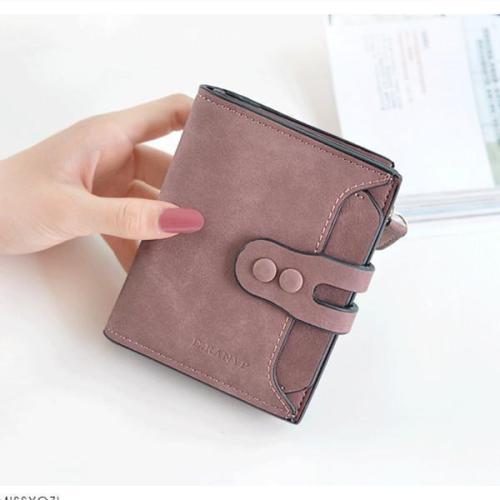 PU Short Wallet Newest Top Sale Zipper Hasp Purse Wallet