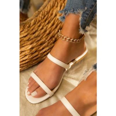 Flat Heel Slippers