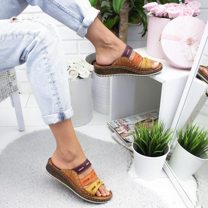 Casual Color Thick Bottom Slippers Sandals