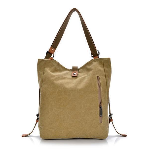 Canvas multifunctional Leisure Shoulder bag