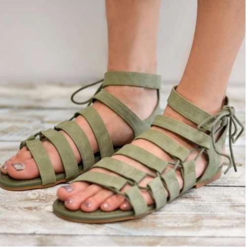 Women's Plus Size Flat Sandals