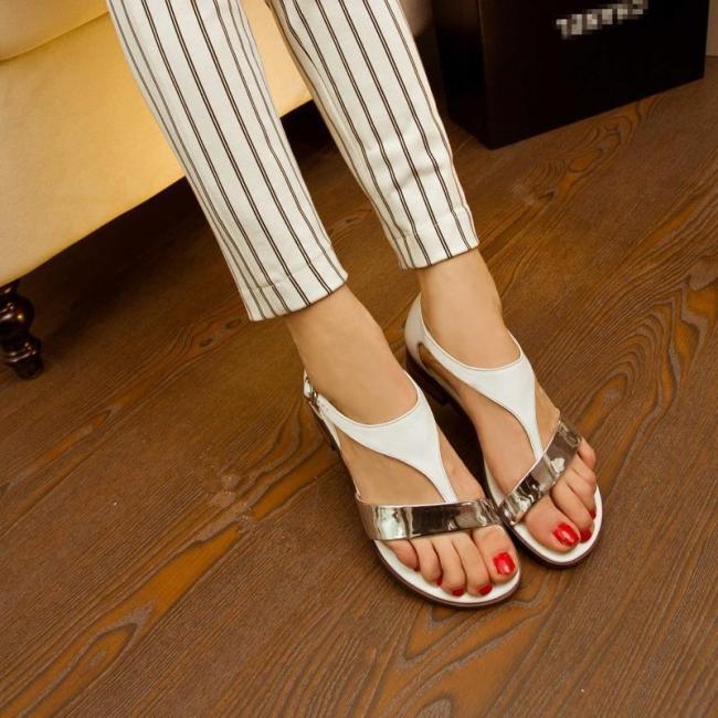 Thong Sandals Daily Flat Heel Sandals