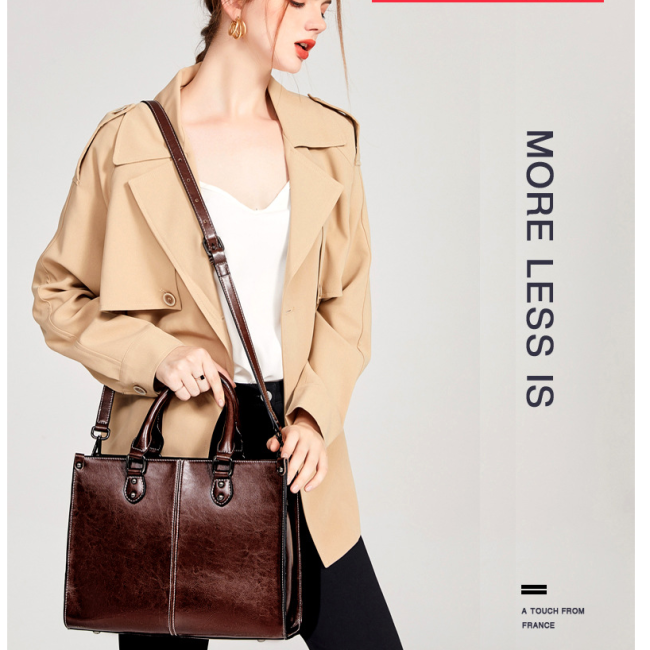 Lokeeda Bag: 2020 New And Fashional Woman Leather Handbag Shoulder Bag