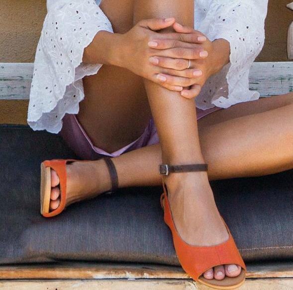 Large Size Women Summer Flat Heel Elastic Band Lace-Up Peep Toe Sandals
