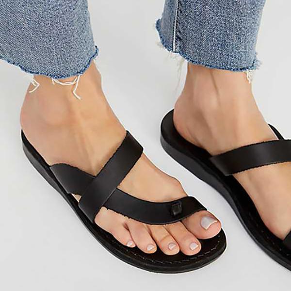 Women PU Slippers Casual Flip Flops Sandals