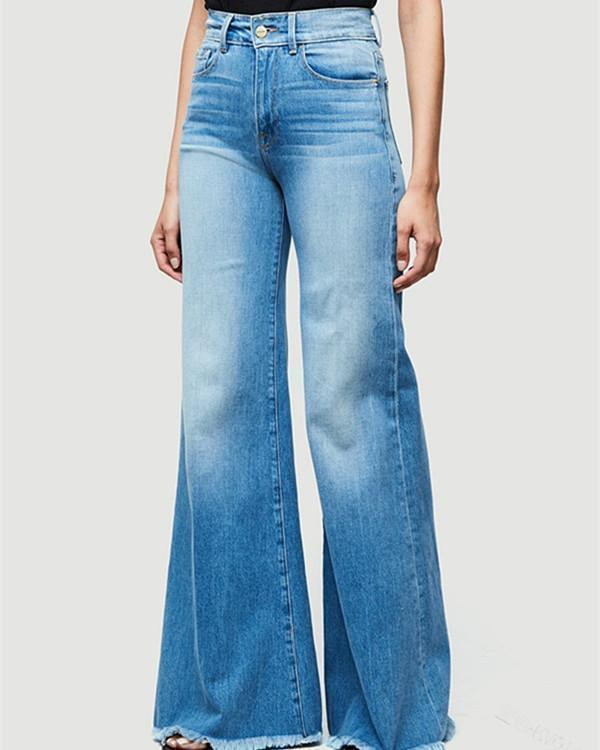 High Waist Denim Jeans Pants