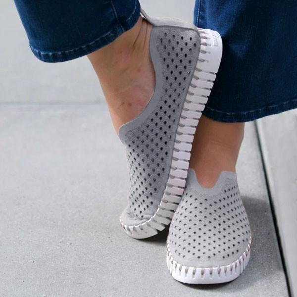 All Season Hollow Out Breathable Loafers