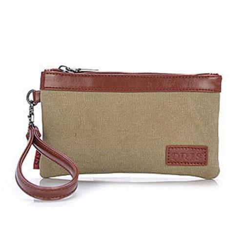 Retro Canvas Soft Long Clutche Bag