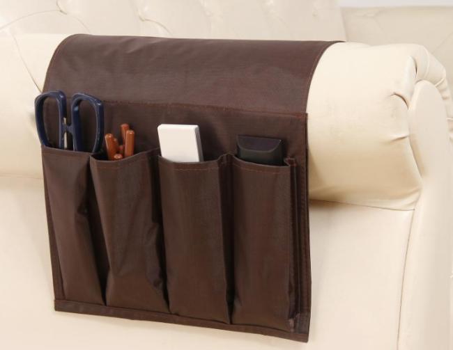 Armchair Sofa Bedside Hanging Organizer Storage Bag