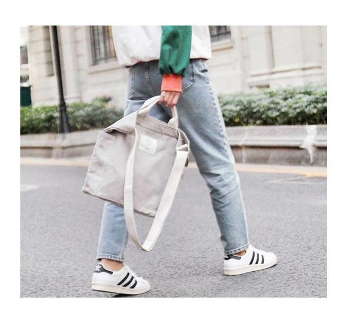 Multi-functional Large-capacity Canvas Messenger Bag Tote Bag