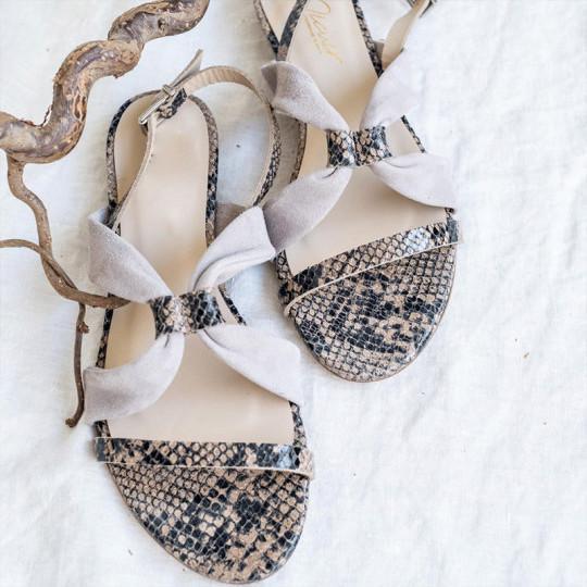 Women's Comfort Flat Flat Toe Buckle Sandals