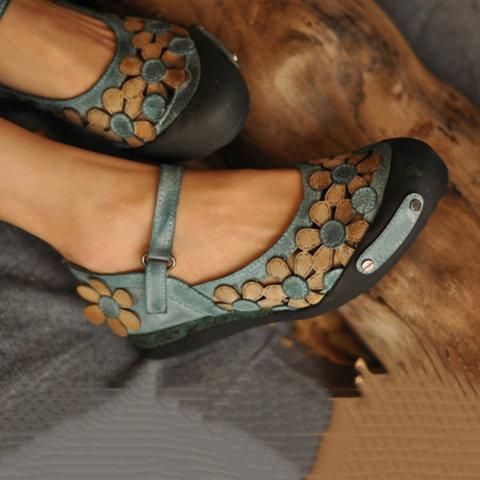 Women Daily Summer Flat Heel Suede Flats