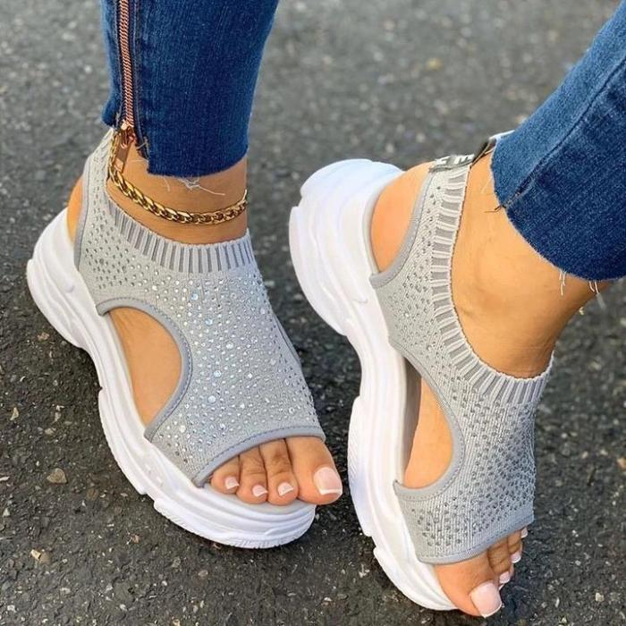 Women Casual Daily Comfy Slip On Sandals