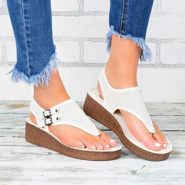 Flip-flops Wedge Sandals For Ladies