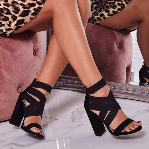 Sexy Ladies High-Heeled Sandals