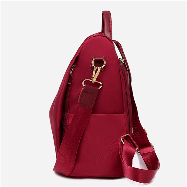 Women Casual Anti Theft Backpack Oxford Backpack Multi-function Bag