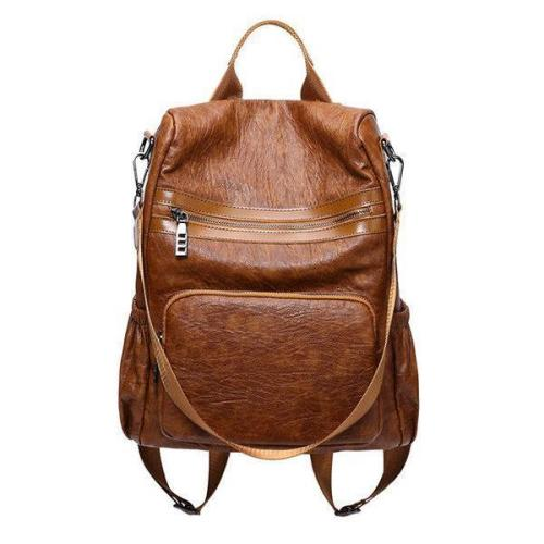 Vintage Anti-theft Large Capacity Multi-function Backpack