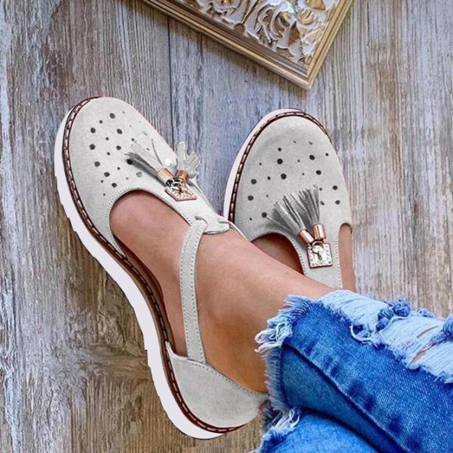 Women's Tassel Comfortable  Hollow Sandals