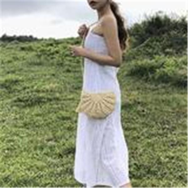 Summer Travel Vacation Cute Fringe Woven Bag