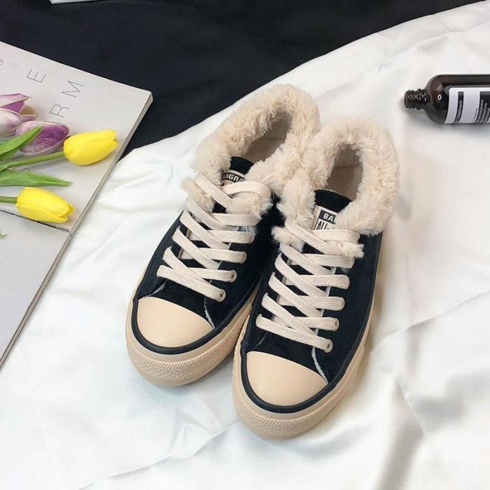 Women Sneakers Snow Booties Casual Sport Shoe