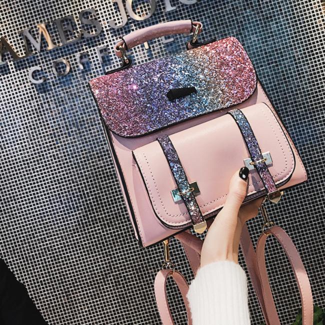 2020 New Colorful Travel Shoulder Bag Handbag School Bag