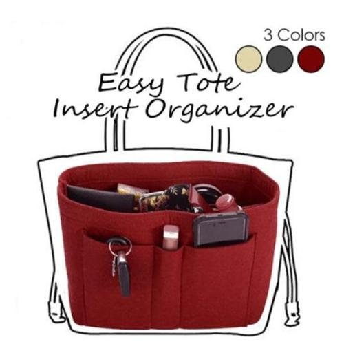 Easy Tote Insert Organizer Bag in Handbag