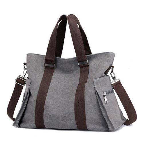 Canvas Large Capacity Patchwork Handbag
