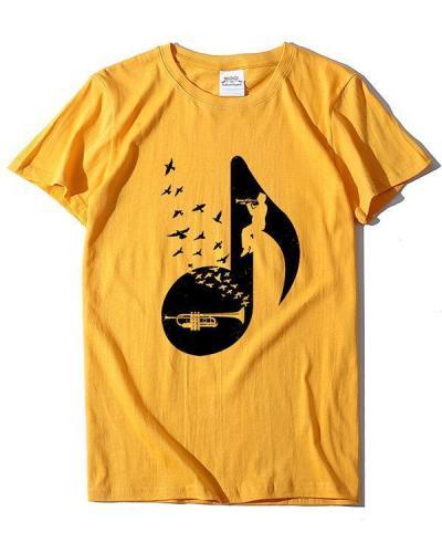 Hot Sale Print T-shirt Ladies Short Sleeve Daily Tops