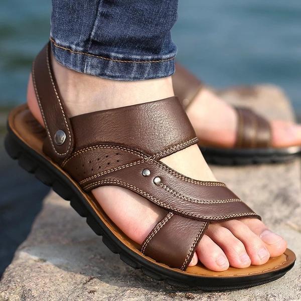 Men's Summer Comfortable Slip-on Beach Sandals