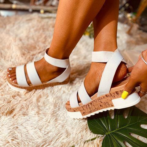 Women Breathable Colorful Espardille Sandal